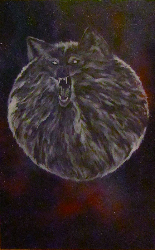 mark ghee's fur ball wolf