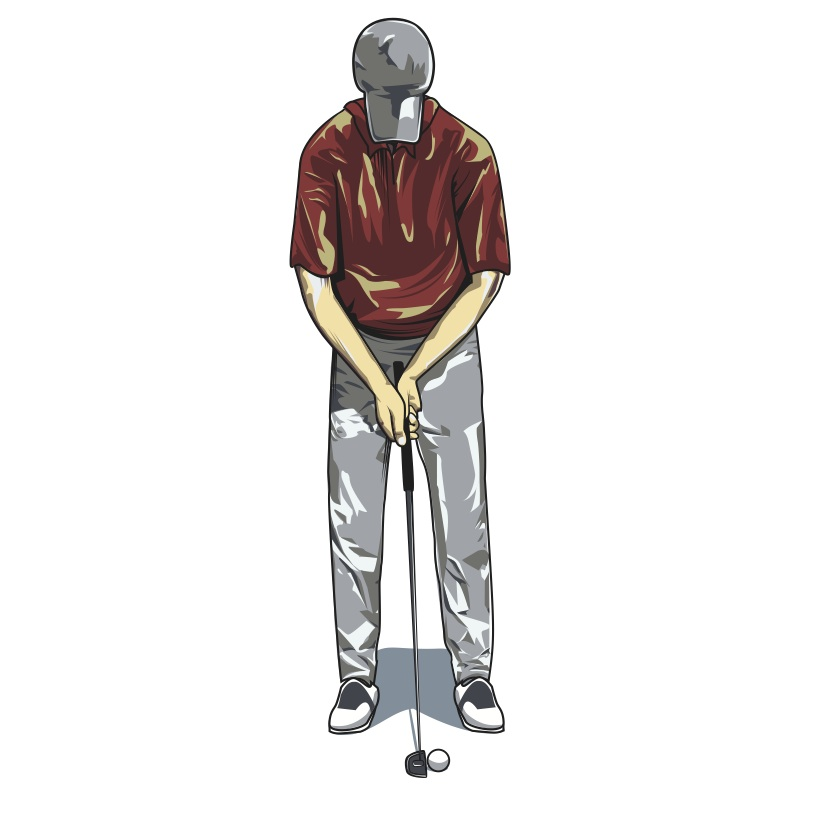 Golfsetup