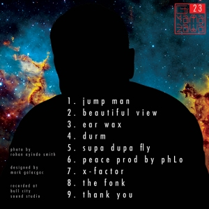 g yamazawa album cover mixtape 23 design